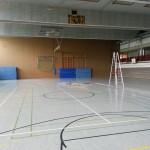 Baustelle Sporthalle