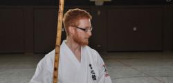 Hat mit dem Kobudo vor dem Karate angefangen: Viktor