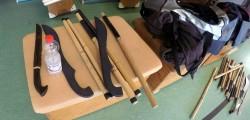 Handwerkszeug beim Silat