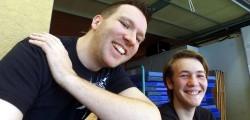Matze und Daniel